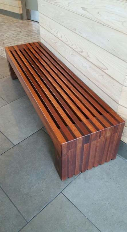 Slat Bench Do It Yourself Home Projects From Ana White Idee