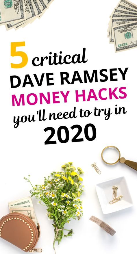 5 Dave Ramsey Money Tips to Help You Manage Your Money Better in 2020