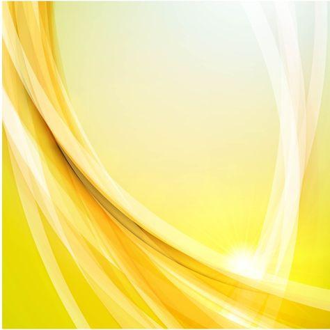 الضوء الساطع الأصفر الذهبي ضوء تأثير خلفية ناقلات المواد Vector Background Background Videography