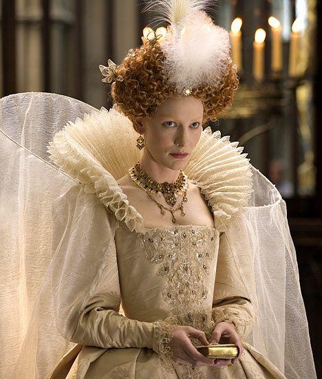 "Cate Blanchett as ""Elizabeth I'"