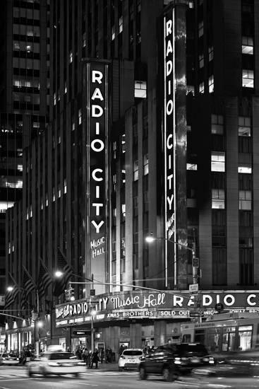 Radio City Music Hall Manhattan New York City United States Photographic Print Philippe Hugonnard Art Com Black Aesthetic Wallpaper Black And White Picture Wall Black And White Aesthetic