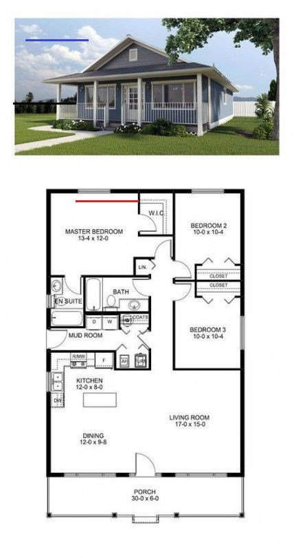 House Plans One Story 3 Bedroom Garages Basements 64 Ideas For 2019 House Plans One Story 3 Bedroom Gara New House Plans Best House Plans House Plans Farmhouse