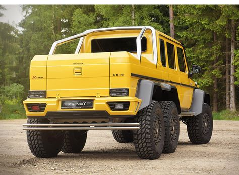 Mercedes Benz Amg G63 6x6 Gronos Off Road Vehicle By Mansory