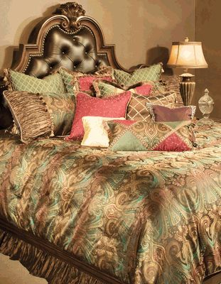 Michael Amini Queen Anne Bedding Set Luxury Bedding Sets And