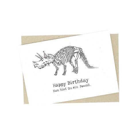 Lustige Geburtstagskarte Mit Dino Geburtstagskarte Zum 30