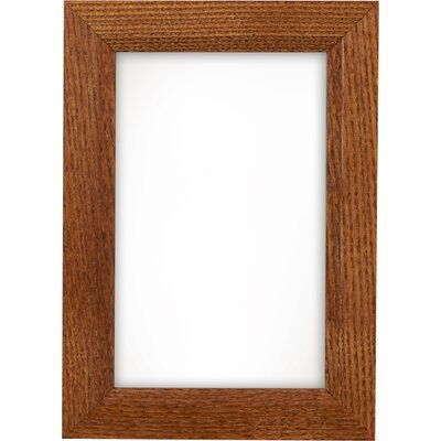 Alcott Hill Complete Solid Poplar Wood Picture Frame Size 18 X 36 Color Rich Honey Brown Wood Picture Frames Homemade Picture Frames Picture Frames
