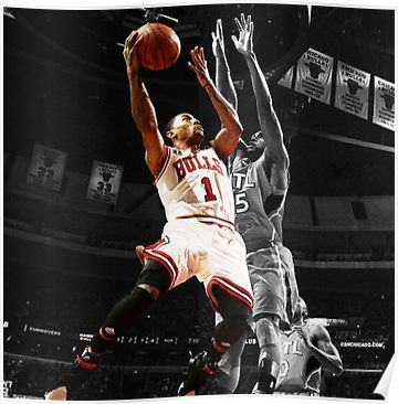 Derrick Rose Poster By Chinesefood951 Derrick Rose Derrick Rose Wallpapers Rose Wallpaper