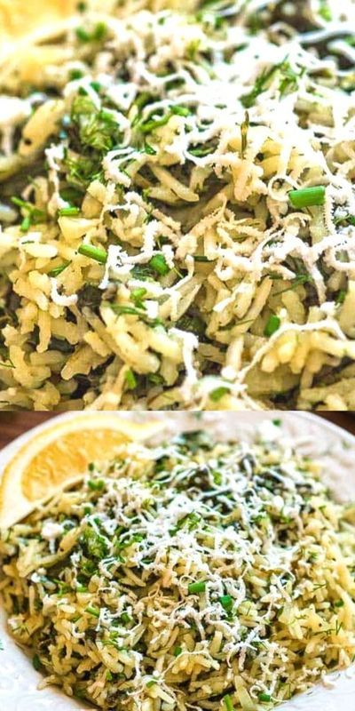 Spanakorizo - Greek Spinach Rice
