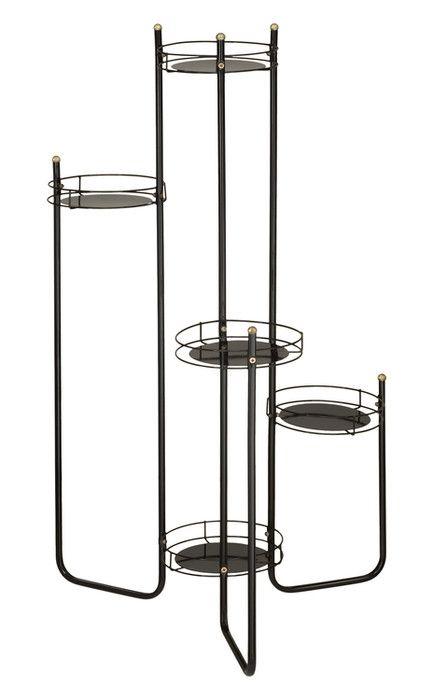Kwietnik Metalowy Stojak Na Kwiaty Rurkowy 100cm Bar Table Towel Rack Decor
