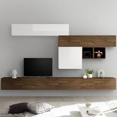 Craquez Pour Un Ensemble Meuble Tv Mural Bois Disponible Chez Nouvomeuble Au Meilleur Prix Du Web Ensemble Meuble Tv Meuble Tv Blanc Meuble Tv Mural Design