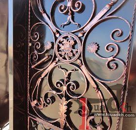 اجمل واحدث ديكورات ابواب حديد مشغول و بوابات حديد 2014 من اعملنا Decor Doors Design
