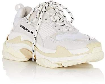 Price of Balenciaga Triple S Trainers Green Yellow sneakers