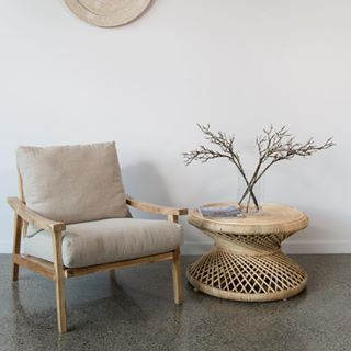 Linen Occasional Chair Online And In Store Now Designed In Nz By Corcovado Gorgeous Ran Arm Chairs Living Room Woven Dining Chairs Occasional Chairs Bedroom