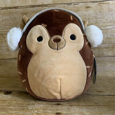 Kellytoy Squishmallow 8 Hans Hedgehog Winter Collection Soft Plush Pillow Toy Ebay Squishmallows Squishmallow Kellyto Animal Plush Toys Toys Cute Toys