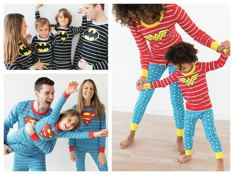 36d7f0a017 Superhero Matching Family Pajamas