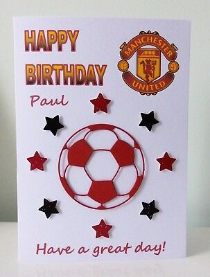 Digital Files Only Manchester United PRINTABLE PDF File Birthday Party Banner