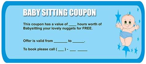 Babysitting coupon babysitting coupon templates pinterest babysitting coupon babysitting coupon templates pinterest coupons and template pronofoot35fo Choice Image