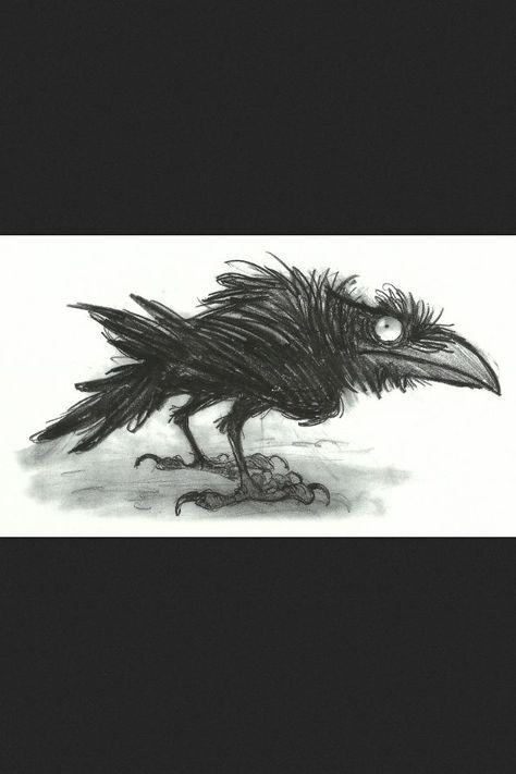 Raven, Crow, et Corbacs  Cf18604f5b7a42b4f84143e70dbf2a1d--crow-art-crows-ravens