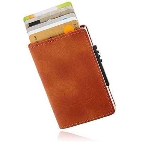 Kartenetui mit GeldklammerKreditkartenetuiCard HolderSlim Wallet RFID