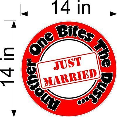 Another One Bites The Dust Wedding Static Cling Window Decals Removable And Car Static Cling Window Decals How To Remove
