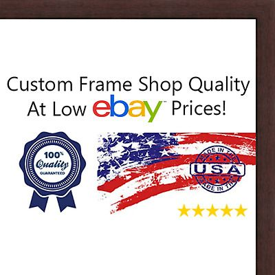 13x13 13 X 13 Walnut Flat Solid Wood Frame With Uv Framer S Acrylic Fashion Home Garden Homedcor Fr Wood Picture Frames Picture On Wood Wood Shadow Box