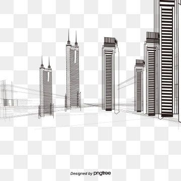 Creative City Building Perspective Lines City Clipart Painted Urban Architecture Png Transparent Clipart Image And Psd File For Free Download Abstract Wallpaper Backgrounds Urban Architecture Architecture Collage