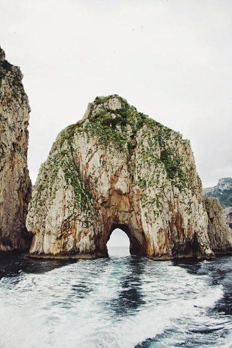 Lovers Arch in Capri, Italy