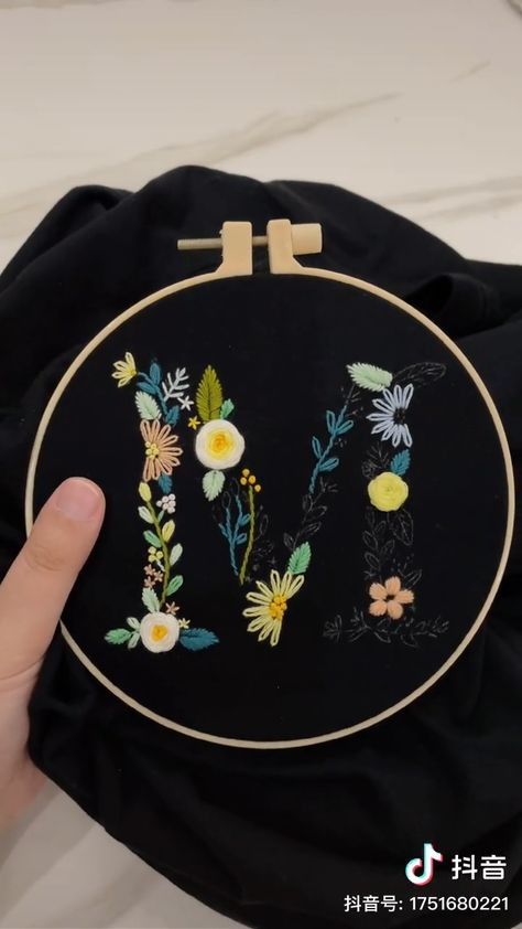 Haha, embroidery inspiration, embroider a unique dress for your loved one.