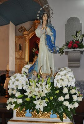 Pin De Marleni Villeda Em A Virgen2 Arranjos De Flores