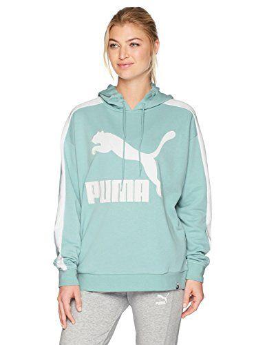 PUMA Women's Classics Logo T7 Hoodie | Hoodies womens