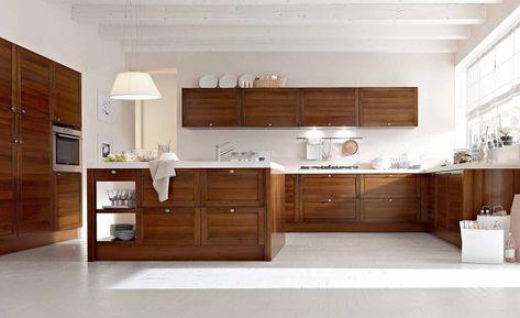 cucine arte povera-inserti-moderni | Minimalist kitchen ...