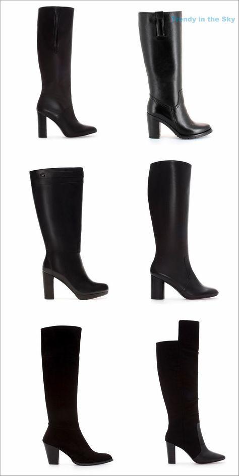botas altas caña ancha | Botas, Botas caña ancha y Botas altas