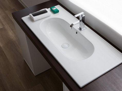 Mastro Fiore Mobili Bagno.Unitop Frank Lavabo 91x46 Ceramica Nel 2020 Ceramica Ceramica