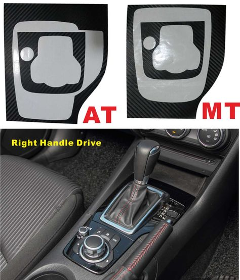 Find More Stickers Information about Right Handle Drive black For Axela New Mazda3 (2015) AT/MT Stall panel Sticker Carbon fiber Sticker Modified decorative stickers,High Quality handle bar,China handle bag Suppliers, Cheap driving range golf balls from PaiKoo Company on Aliexpress.com