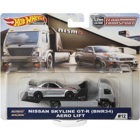 Brand New Hot Wheels Premium Nissan Garage Box