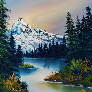 Pin By Clayton Parcher Gods Gift Of A On Nature 4 Painting In 2020 Beautiful Landscape Paintings Landscape Paintings Nature Art Painting