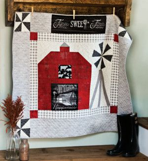 Homegrown Happiness Quilt Pattern Download | Terri Quilts