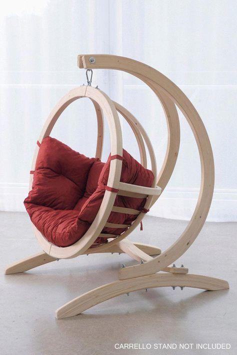 Globo Hangstoel Standaard.Kids Globo Hanging Chair Indoorhangingchairs Proyectos De
