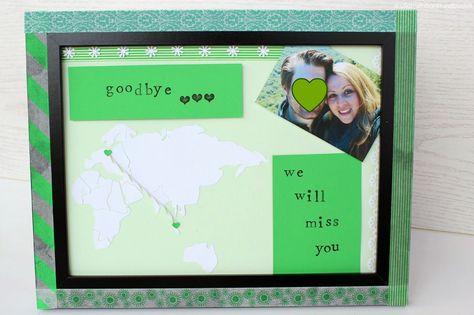 ullatrulla backt und bastelt: DIY goodbye picture for  friends