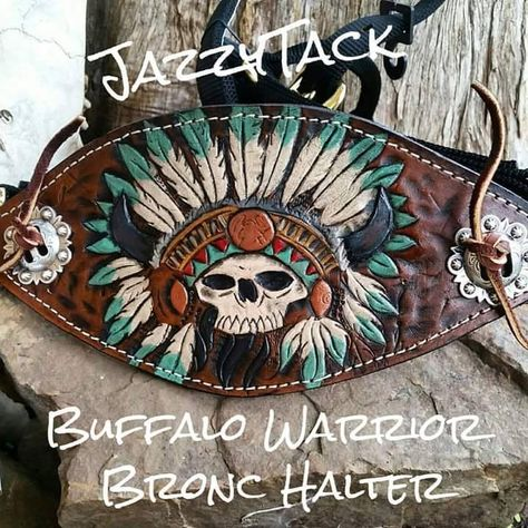 Spirit of the Paint Bronc Halter - JazzyTack