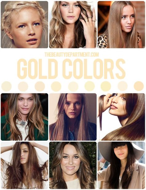 HAIR COLOR GUIDE: Time to talk golden tones, ladies...