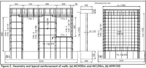 Boundary Elements In Shear Walls Shearing Wall Floor Plans