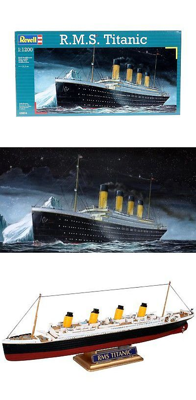 Other Boat Ship Models and Kits 4248: R M S  Titanic 1:1200 Revell