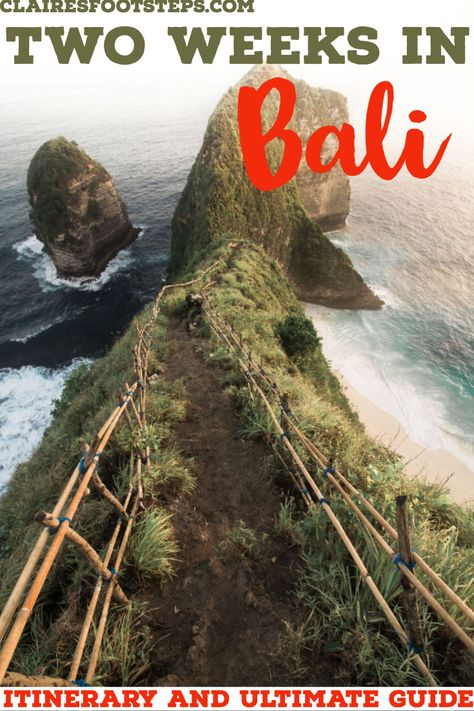 If you're spending 2 weeks in Bali, you'll want to know what the ultimate Bali itinerary is for all of the best things to do in Bali. This 2 weeks in Bali travel guide will show you the best Bali attractions, best beaches in Bali, islands near Bali, restaurants in Bali, and where to go in Bali. It will also detail where to stay in Bali, what to do in Bali in 2 weeks, and how to spend 2 weeks in Bali. If you only have 10 days in Bali, it's perfect too. #bali #itinerary #asia #travelguide