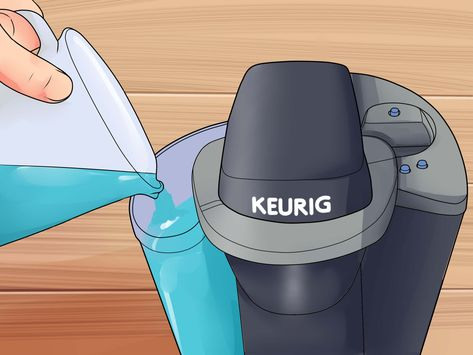 How to Descale a Keurig. Over time, Keurigs can develop lime scale that affects the machine's performance and the taste of the coffee it brews. Fortunately, it's easy to descale a Keurig using a cleaning solution or a few simple household.