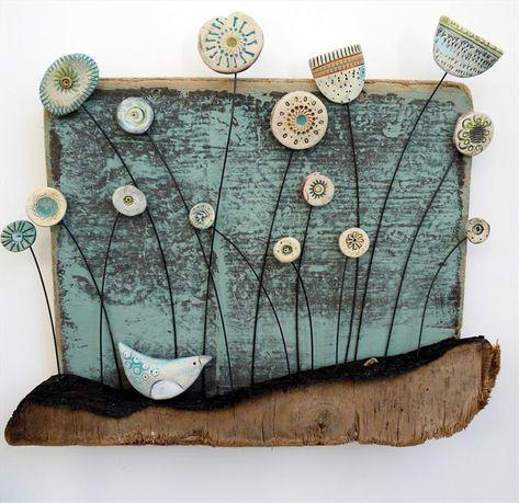 Little Bird in Meadow - Shirley Vauvelle