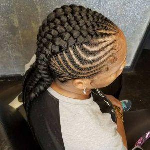 35 Mohawk Braids Hairstyles In 2020 Mohawk Braid Styles Goddess Braids Goddess Braids Hairstyles
