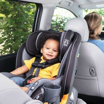 Chicco Fit 4 In 1 Convertible Car Seat Onyx In 2020 Car Seats Convertible Car Seat Baby Car Seats