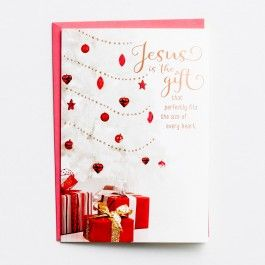 Dayspring Christmas Cards.Jesus Is The Gift Boxed Kjv Christmas Cards Dayspring