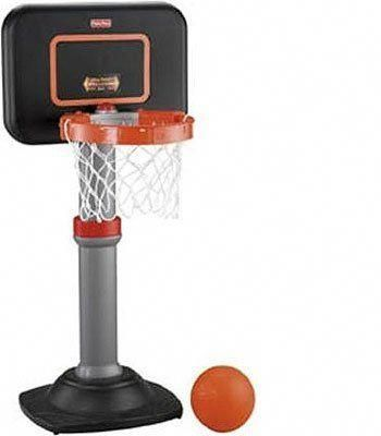 Fisher Price Grow To Pro Basketball Junior Set By Fisher Price 49 60 Easy Adjust Rim Shrinks To A Pro 12 Diameter Or Expands To With Images Fisher Price Basketball Hoop